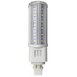 Taft G24Q 4pin LED 765lm 9w(55w) Rundspridande