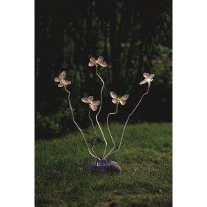 Assisi Solcellslampa Fjärilar LED