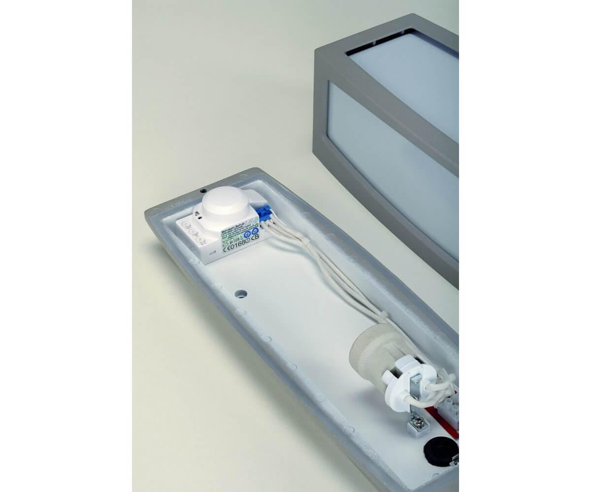 Meridian Box Vägglampa Med Sensor Ljustema Se