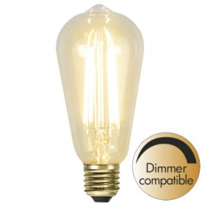 LED-Lampa Lyktlampa 140mm, E27 2200K 320lm 3.6W(30W)
