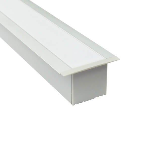 Aluminiumprofil Mega, för inbyggnad
