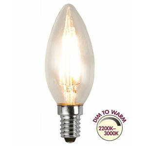 KronlampaLED E14 2200K-3000K 300lm 4W
