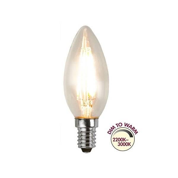 Köp LED Lampa Kron, Dim to Warm E14 2200K 3000K