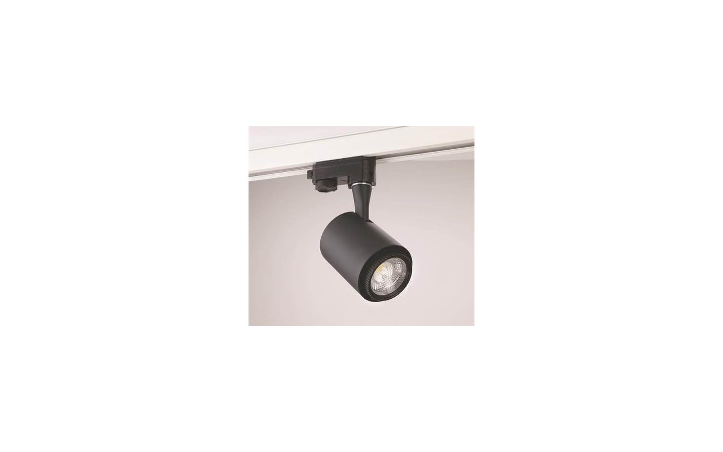 Rex II LED Track Light 3-Fas Svart 8W