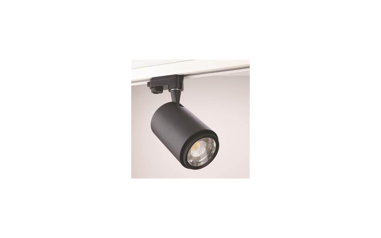 Rex II LED Track Light 3-Fas Svart 20W
