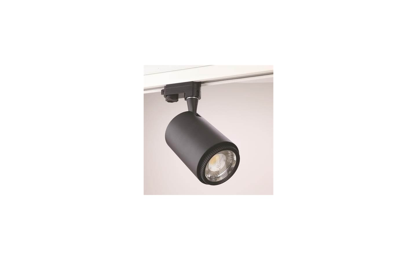 Rex II LED Track Light 3-Fas Svart 26W