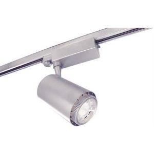 Rex II LED Track Light 3-Fas Silver 50W
