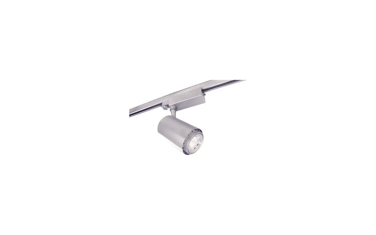 Rex II LED Track Light 3-Fas Silver 50W