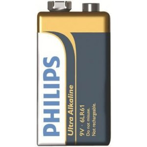 Ultra Alcaline Batteri 6LR61 9V 1 st