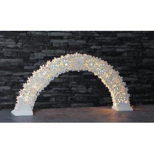 Snowflake-Bow Ljusstake LED