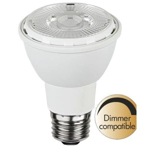 LED-Lampa Spotlight Par 20, E27 2700K 450lm 6,2W(56W)