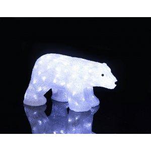 Crystal Isbjörn LED 50cm