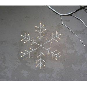 Tobby Snöflinga 52cm LED Vit