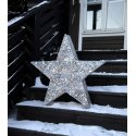 Silver Stjärna 70cm
