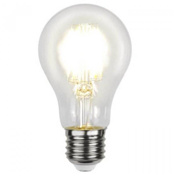 Illumination LED Klar filament E27 7,5W 2700K