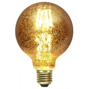 Decoration LED G95 Guldspräcklig Filament E27