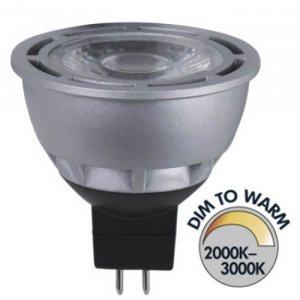 Spotlight LED 12V Klar GU5,3 280lm 5W(28W)