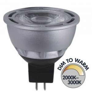 Spotlight LED 12V Klar GU5,3 280lm 5W(28W)