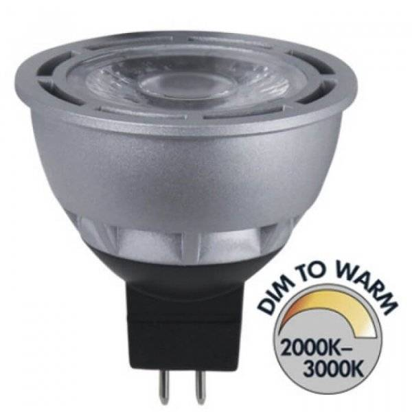 Spotlight LED GU5,3 Dim To Warm 290lm 5W(28W)