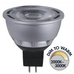 Spotlight LED 12V Klar GU5,3 370lm 7W(35W)