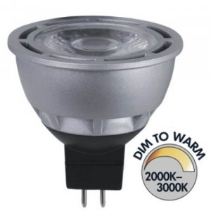 Spotlight LED 12V Klar GU5,3 370lm 7W(35W)