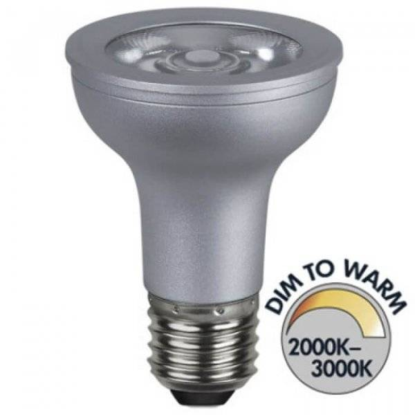 Spotlight LED Klar E27 300lm 5W(41W)
