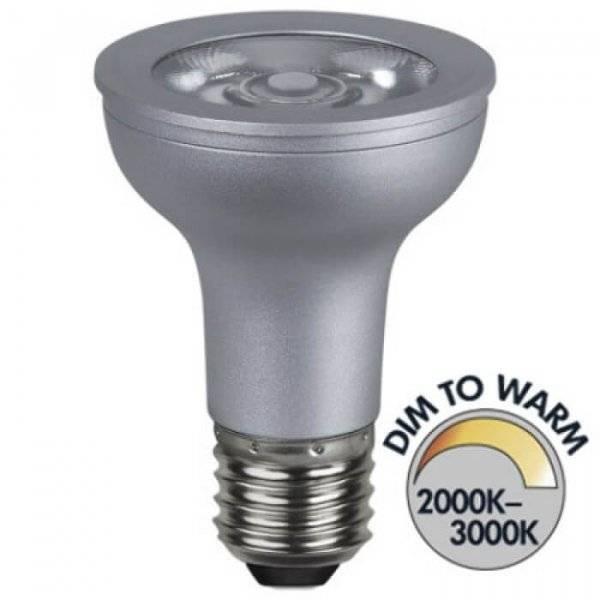 LED-Lampa Spotlight Par 20, Dim to Warm E27 2000-3000K 300lm