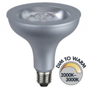 Spotlight LED Klar E27 850lm 15W(93W)