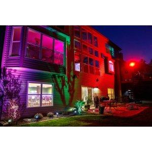 Slim Color LED Strålkastare 30W Färgväxlande RGB