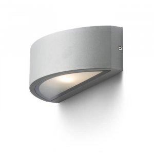 Lesa Vägglampa Silvergrå