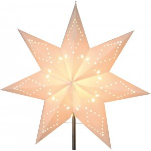 Katabo Julstjärna Reservdel 43cm Vit