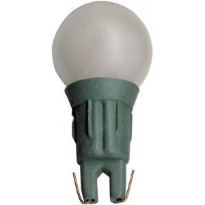 Microlampa Push-In 12V Rund Vit, Grön Sockel