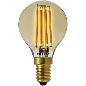 LED-Lampa Klot, Amber E14 2200K 320lm 3,5W