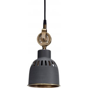 Cleveland Tak-/Fönsterlampa 14cm Grå/Mässing