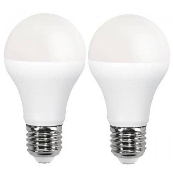 LED-Lampa Normal, Opal E27 3000K 1050lm 11W(75W) 2-Pack