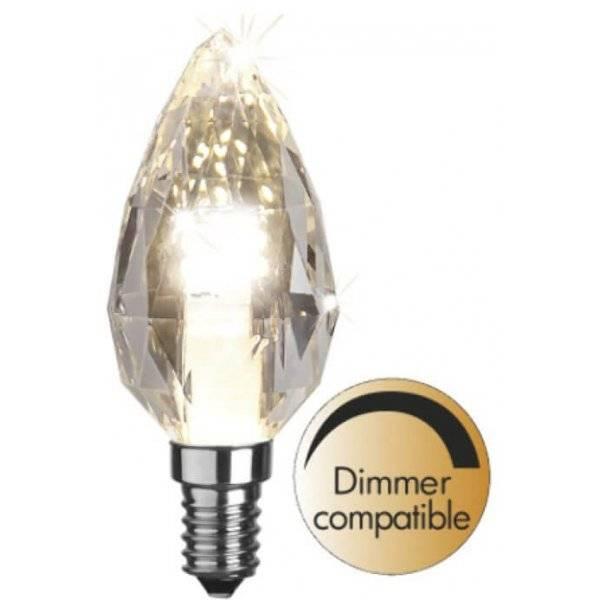 LED-Lampa Kron, E14 2700K 280lm 3,5W (28W)
