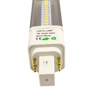 Dahka G24q 4pin LED 3000K 560lm 7W(50W)
