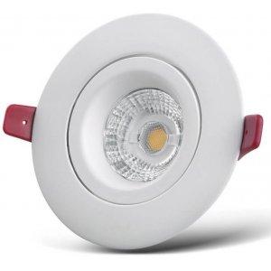 Milton Lågprofil LED Spotlight 540lm 6,5W(55W)