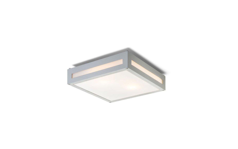 Plaka Tak/Vägglampa Silvergrå