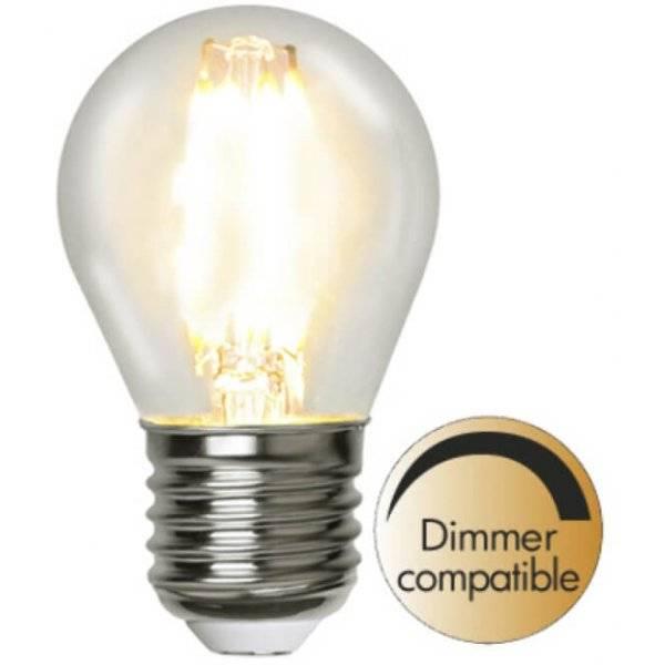 LED-Lampa Klot, E27 2700K 420lm 4,2W(40W)