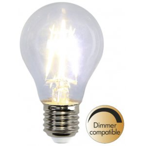 LED-Lampa Normal, E27 2700K 400lm 4W(40W)