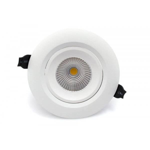 Splitter nya Köp Boston LED Spotlight 750lm 10W(50W) från QA-46