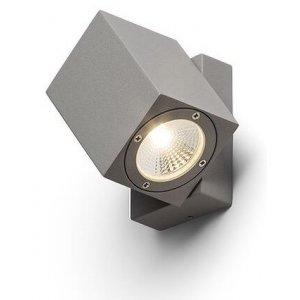 Dazoom Vägglampa LED Silvergrå