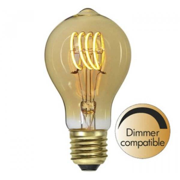 LED-Lampa Normal, Amber E27 2100K 95lm 2,7W(10W)