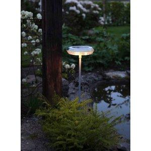 Solcellslampa Ufo, Gångljus LED