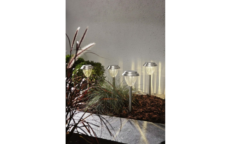 Solcellslampa Palma 4-pack LED