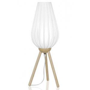 Bordslampa SWEA Long Trä Natur / Vit