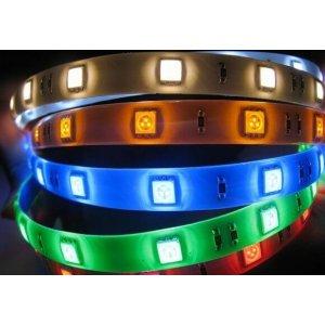 Crystal RGB+WW LED List 14,4w/m, endast 5m strip