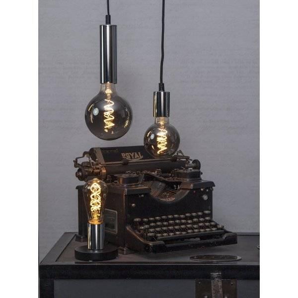LED-Lampa Lyktlampa, Heavy Smoke, E27 2100K 70lm 4W(7W)