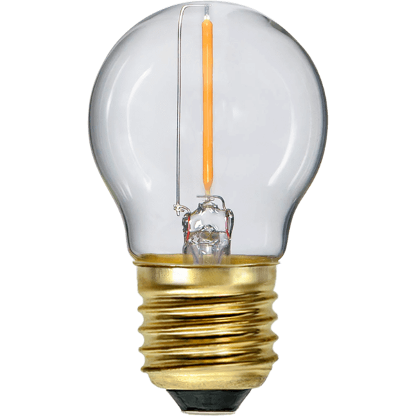 LED-Lampa Klot, E27 2100K 70lm 0,8W Soft Glow